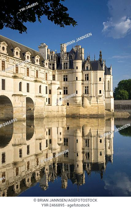 Early morning at Chateau Chenonceau, Indre-et-Loire, Centre, France