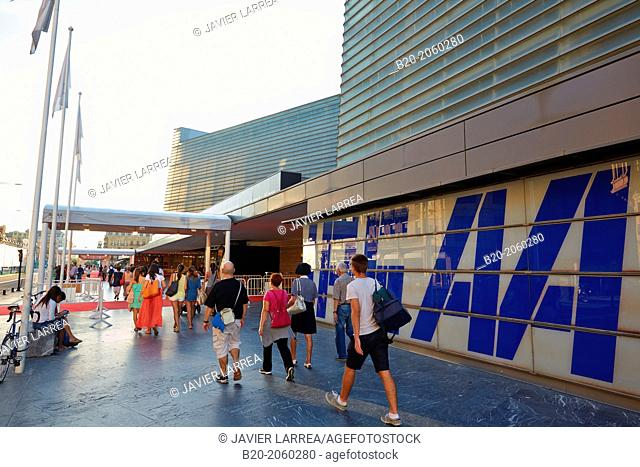 International Film Festival. Kursaal center. Donostia. San Sebastian. Basque Country. Spain