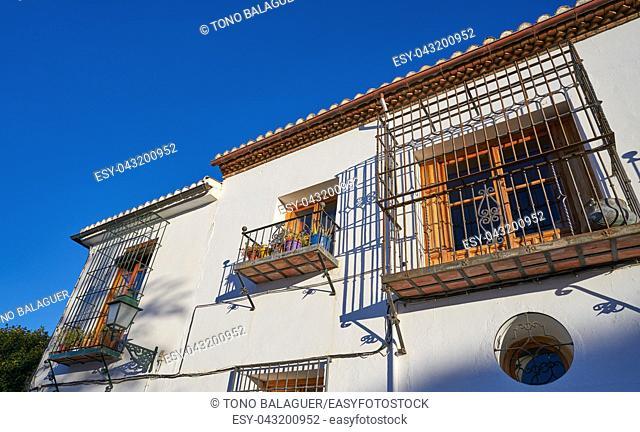 Albaicin of Granada arabic old district of Andalusia muslim Spain