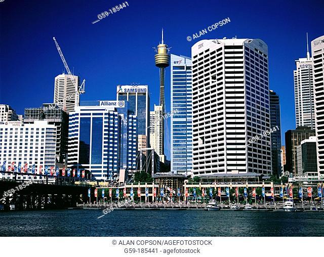 Central Business District & Cockle Bay. Sydney. Australia