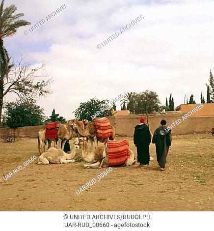 Eine Reise nach Marokko, 1980er Jahre. A trip to Morocco, 1980s