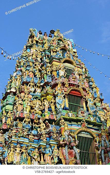 Myanmar, Yangon (Rangoon), Anawrahta road, Sri Kali hindu temple