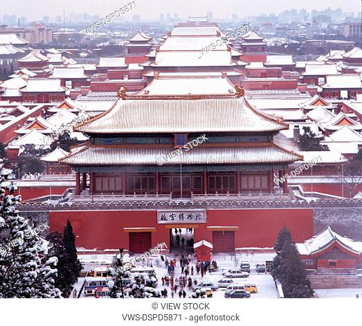 The Imperial Palace,Snowscape