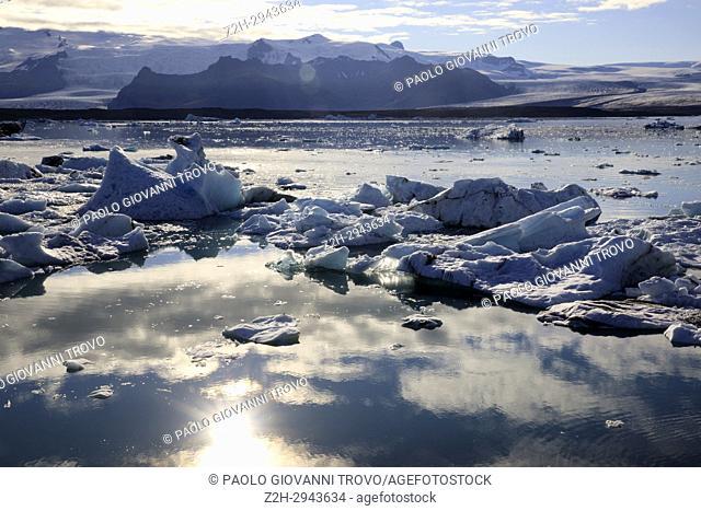 Jokulsarlon Glacier Lagoon, Iceland, Europe