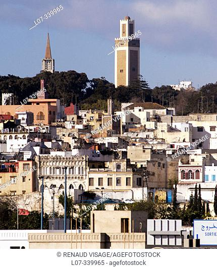 View of Tangier. Morocco