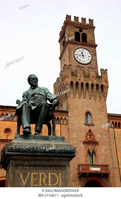 Teatro Verdi in Busseto, Emilia Romagna, Italy, Europe