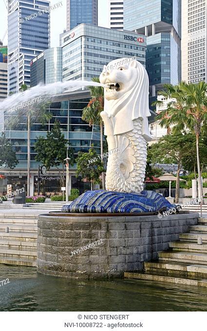 Singapore Endingen figures of mythical giants in wat phra kaeo stock
