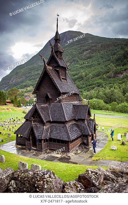 Borgund Stave Church, Sogn og Fjordane, Norway