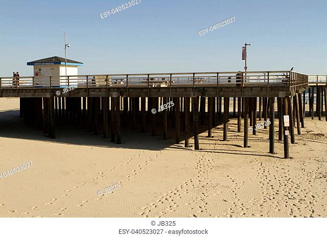 A view of the Pismo Beach Pier