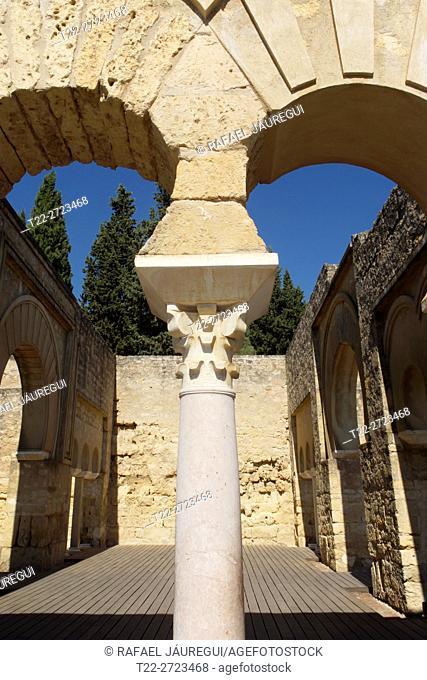 Cordoba (Spain). Architectural detail in the city of Medina Azahara