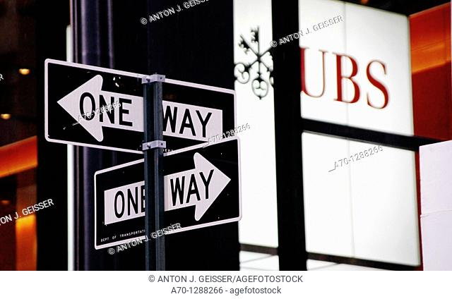 New York City, UBS Bank park avenue