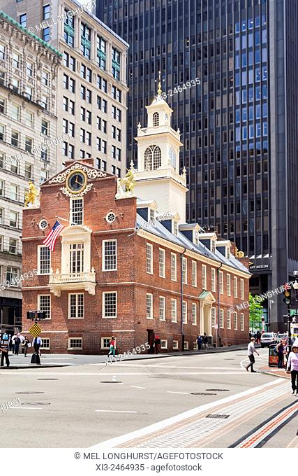 Old State House, State Street, Boston, Massachusetts, USA