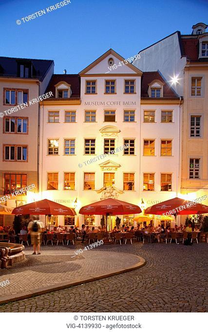 Haus im Leipziger Barfussgaesschen