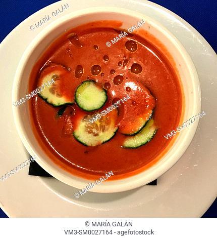 Watermelon gazpacho. Spain