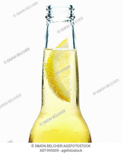 Lemon in a Beer Bottle