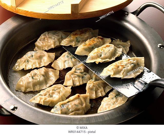 Chinese meat dumpling