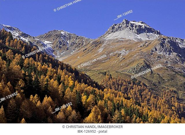 Hike to the Schlininger alp, Upper Vinschgau, South Tyrol, Italy