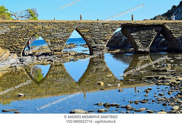 Landscapes, Cadaques, Costa brava, Girona province, Catalonia, Spain