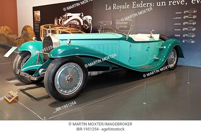 Bugatti, Collection Schlumpf, Cité de l'Automobile, Musée National, National Automobile Museum, Mulhouse, Alsace, France, Europe