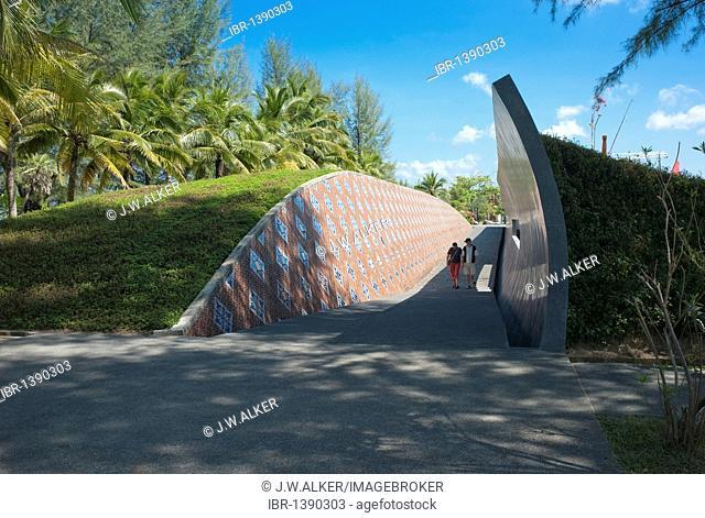 Ban Nam Khem Tsunami Memorial Center, Bang Muang, Takua Pa, Phang-nga, memorial to the Tsunami victims of 26 Dec. 2004, Thailand, Asia