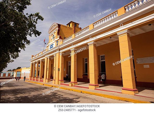 Palacio Municipal at Parque Cespedes, Trinidad, Santi Spiritus, Cuba, West Indies, Central America