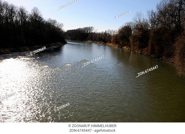 Isar-river