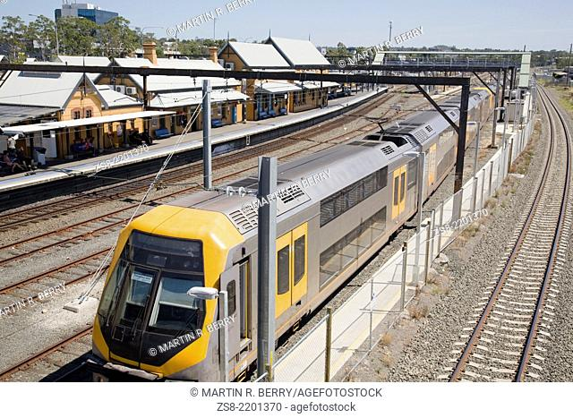 Sydney Train Rail network,Sydney,Australia