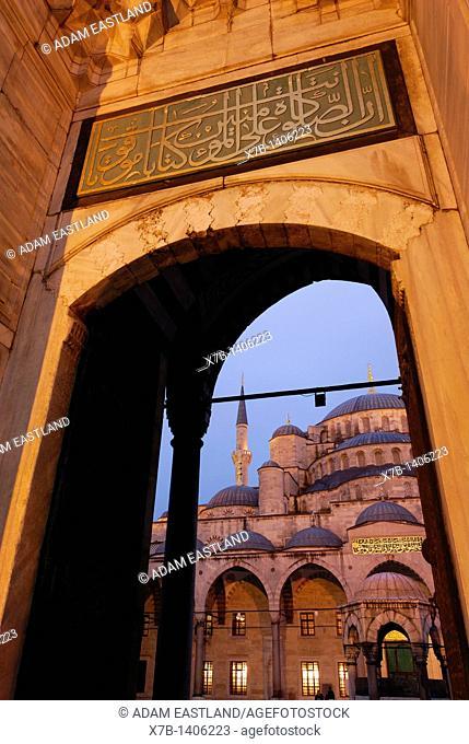 Istanbul  Turkey  Blue Mosque, Sultanahmet