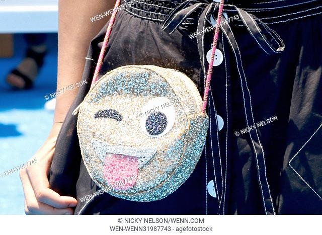 'The Emoji Movie' Los Angeles premiere at the Village Theater Featuring: Asia Monet Ray Where: Westwood, California, United States When: 24 Jul 2017 Credit:...