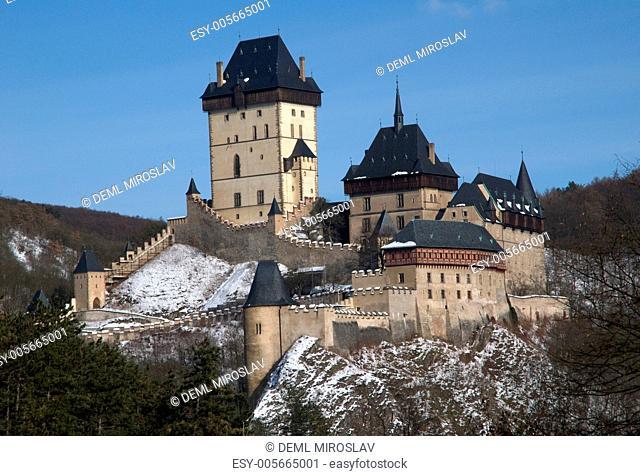 Czech Republic, Cesky kras, Karlstejn, castle