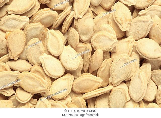 Seeds of the Winter Melon, or white gourd , Benincasa hispida , used fŸr medicinal purposes