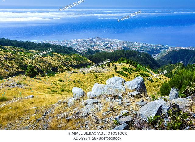 View from Paredao viewpoint. Madeira, Portugal, Europe