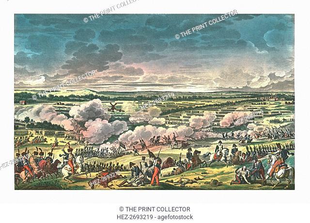 Battle of Mont-Saint-Jean, known as Waterloo, 18 June 1815, (c1850). Artists: François-Louis Couché, Edme Bovinet