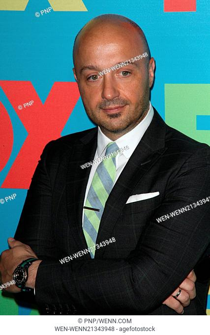 FOX Upfronts at The Beacon Theater - Arrivals Featuring: Joe Bastianich Where: New York City, New York, United States When: 13 May 2014 Credit: PNP/WENN
