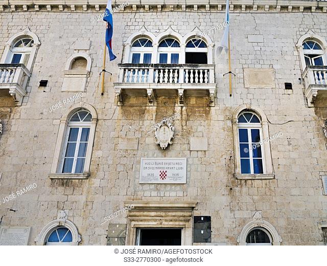 Town Hall in Trogir. Croatia. Europe