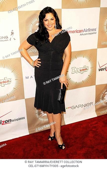 Sara Ramirez at arrivals for Issue Party for PEOPLE EN ESPANOL'S 50 MOST BEAUTIFUL, Splashlight Studios, New York, NY, May 16, 2007