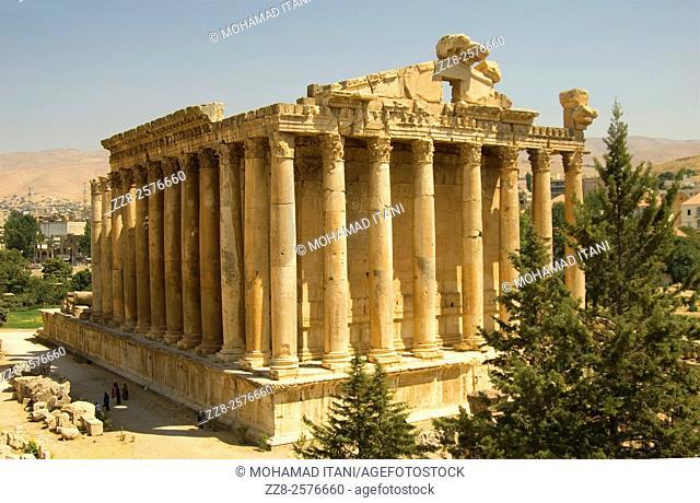 Temple of Bacchus Baalbeck Lebanon
