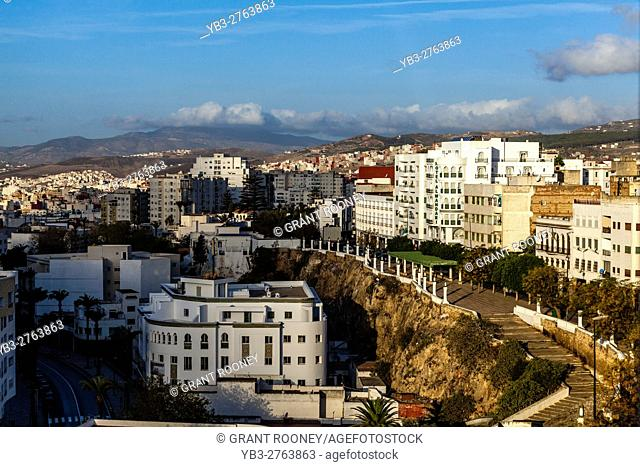 An Elevated View Of The City Of Tetouan, Morocco