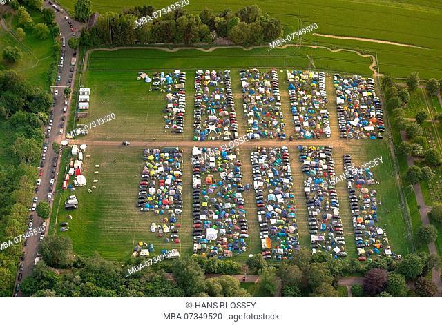 Reggae Summer Dortmund 2016, campground, camping, festival camping, Revierpark Wischlingen, Dortmund, reggae festival with Ruhr area, North Rhine-Westphalia
