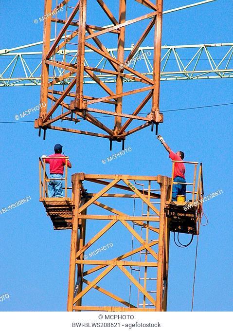 Crane is assembled