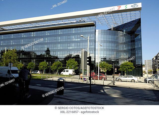 Office building, San Sebastian, Basque Country, Spain