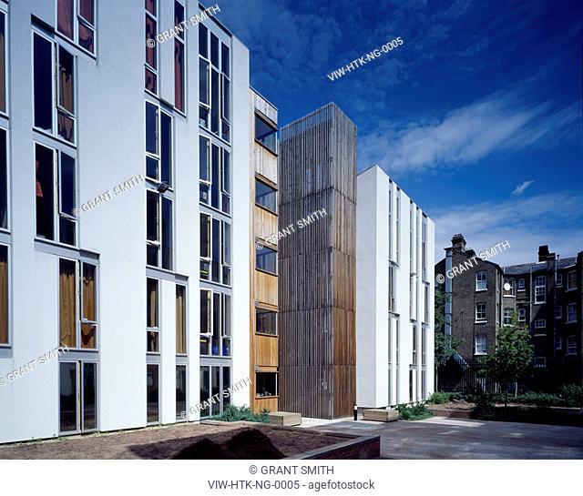 NEWINGTON GREEN STUDENT HOUSING, ISLINGTON, UNITED KINGDOM, Architect HAWORTH TOMPKINS ARCHITECTS, 2005