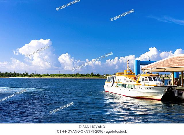 Ferry pier, Ishigaki island, Okinawa, Japa