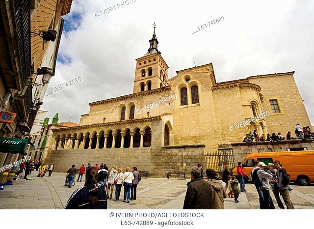 Church of San Martin, Segovia. Castilla-Leon, Spain
