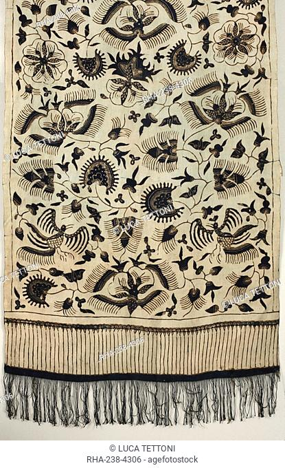Batik from Northern Java, Indonesia, Southeast Asia, Asia