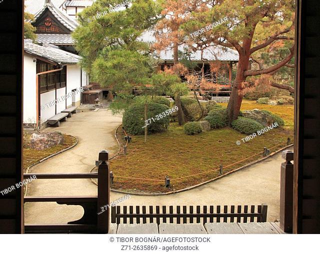 Japan, Kyoto, Shoren-in Temple, garden,
