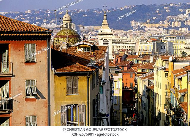 Vieux-Nice, Nice, Alpes-Maritimes department, Provence-Alpes-Cote d'Azur region, France, Europe