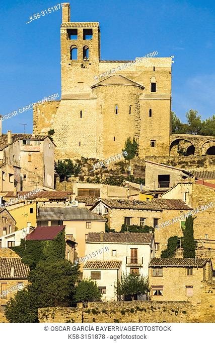Colegiata de Ager, Lleida province, Catalonia, Spain