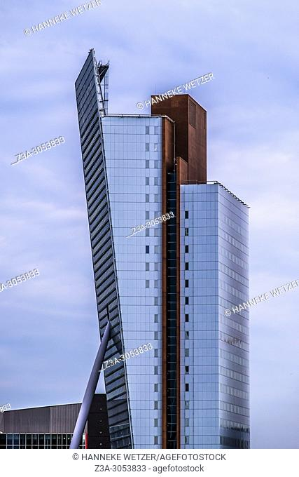The Venture, modern architecture in Rotterdam, The Netherlands, Europe