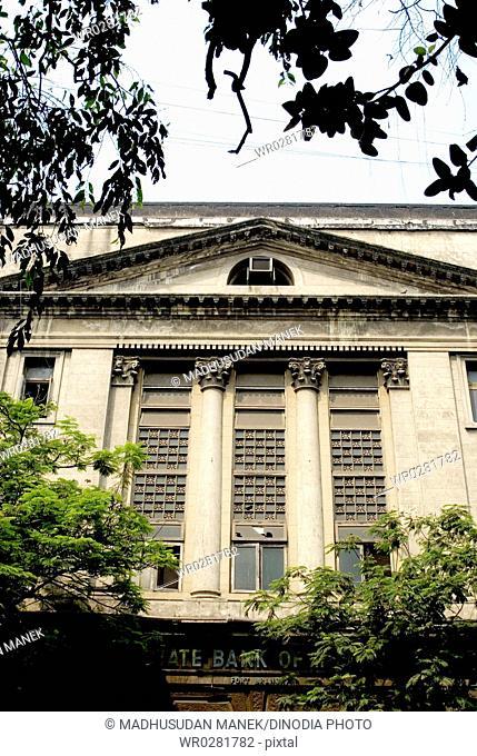 State Bank of India old building at Bombay Mumbai , Maharashtra , India